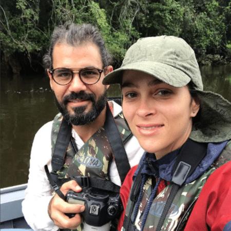 Juliano Cazarré e Leticia - Reprodução/Instagram/cazarre