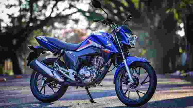Honda CG 160 Titan - Divulgação - Divulgação