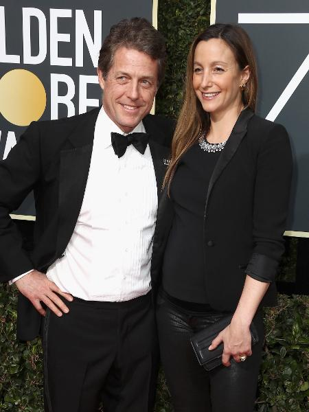 Hugh Grant e Anna Eberstein - Getty Images