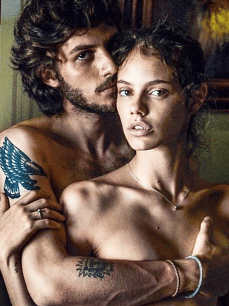 Laura Neiva e Chay Suede - Reprodução/Instagram