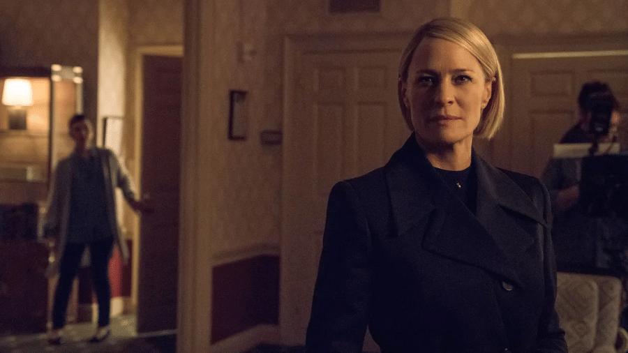 """Novas imagens de """"House of Cards"""" mostram Claire no Salão Oval - Divulgação/Netflix"""