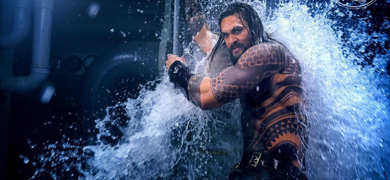 Jason Momoa é Aquaman - Reprodução