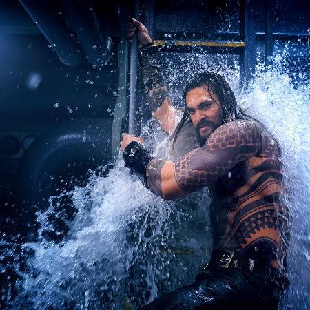 Bastidores do filme Aquaman - Reprodução