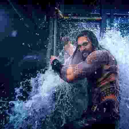 """Jason Momoa em """"Aquaman"""" - Reprodução"""