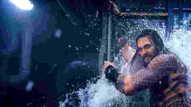 Bastidores do filme Aquaman - Reprodução - Reprodução