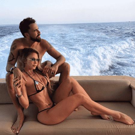Latino e Jéssica Rodrigues curtem férias na Europa - Reprodução/Instagram