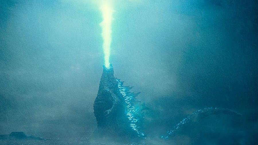 """Cena de """"Godzilla 2 - Rei dos Monstros"""" (2019) - Divulgação"""