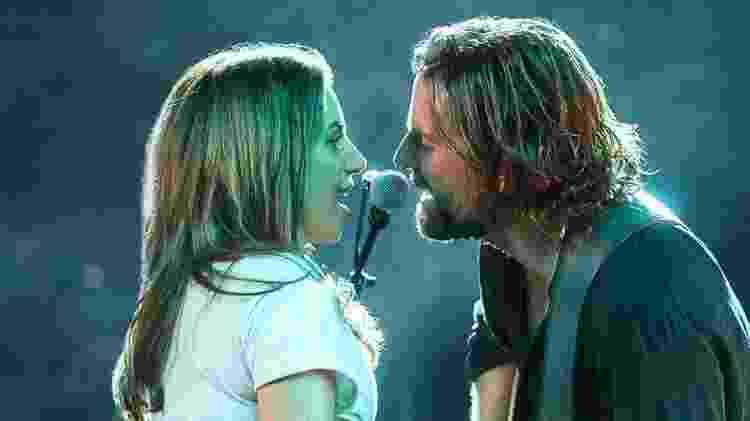 """Lady Gaga e Bradley Cooper em """"Nasce Uma Estrela"""" - Divulgação - Divulgação"""
