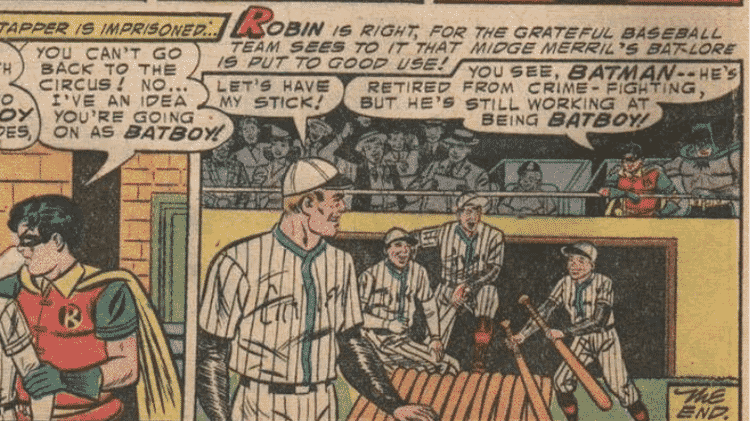 """Tirinha de """"Batman #90"""", de 1954 - Reprodução/CBR - Reprodução/CBR"""