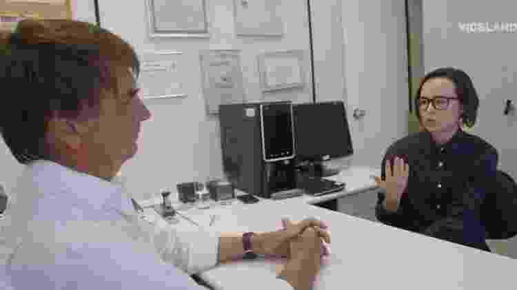 Ellen Page entrevista Bolsonaro - Reprodução - Reprodução