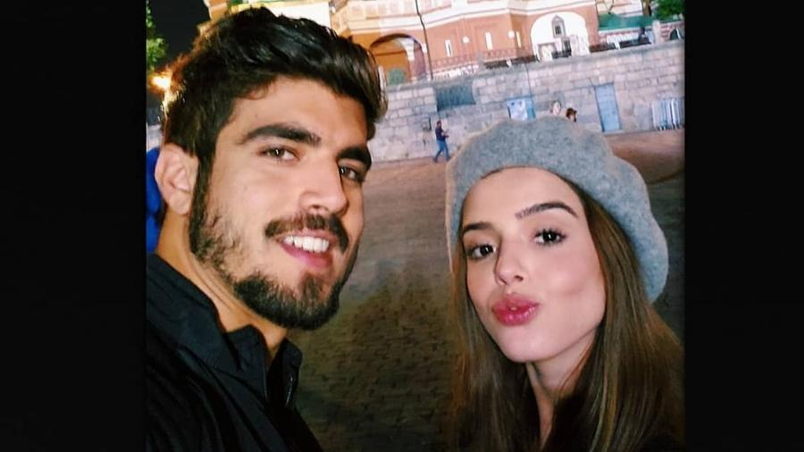 Caio Castro e Giovanna Lancellotti na Rússia - Reprodução/Instagram/gilancelloti