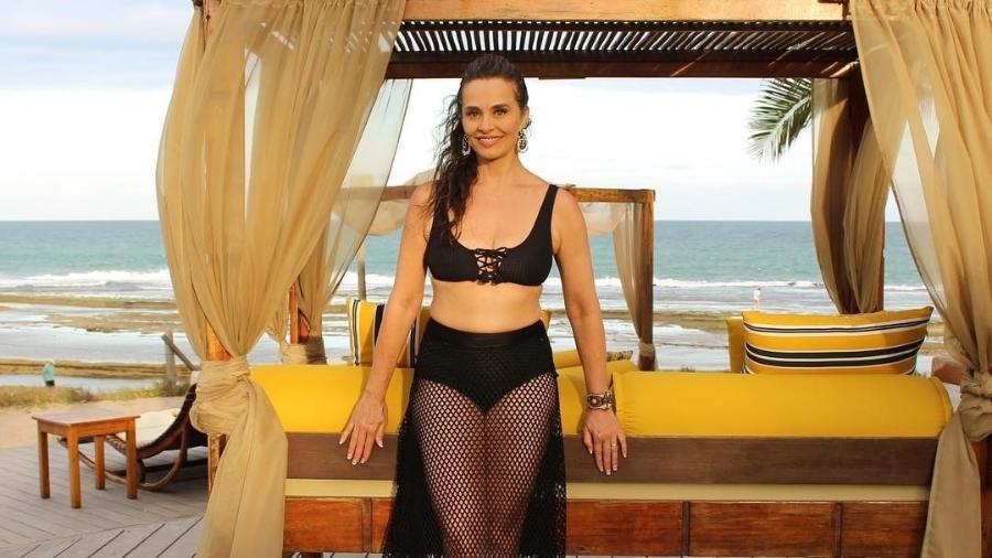 Carla Vilhena está curtindo alguns dias de sol e praia em Pernambuco - Reprodução/Instagram/@carlavilhena