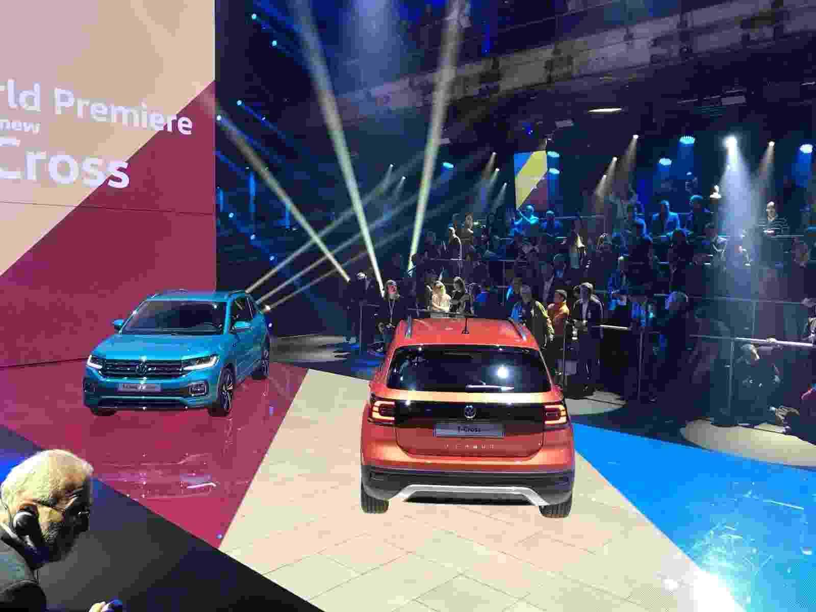 Volkswagen T-Cross europeu - Ricardo Ribeiro/UOL