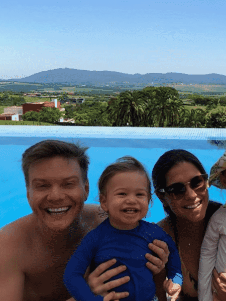 Thais Fersoza, Michel Teló, Melinda e Teodoro - Reprodução/Instagram
