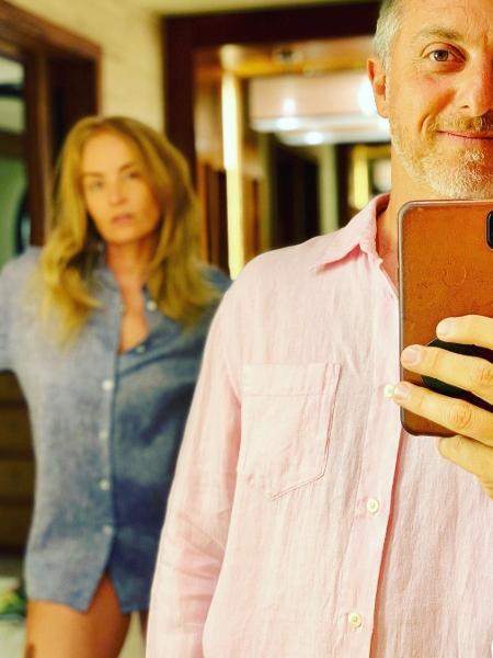 Angélica e Luciano Huck respondem à fala da ministra sobre cores de roupas - Reprodução/Instagram