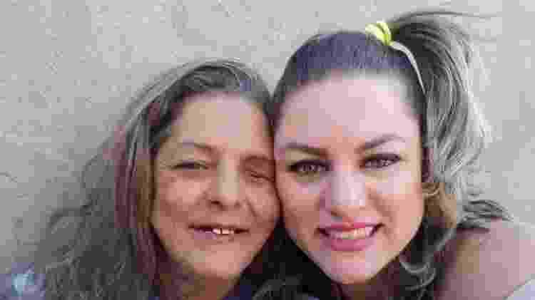 A empresária Lilian Arriel internou a mãe de forma involuntária numa clínica para dependentes químicos - Arquivo pessoal