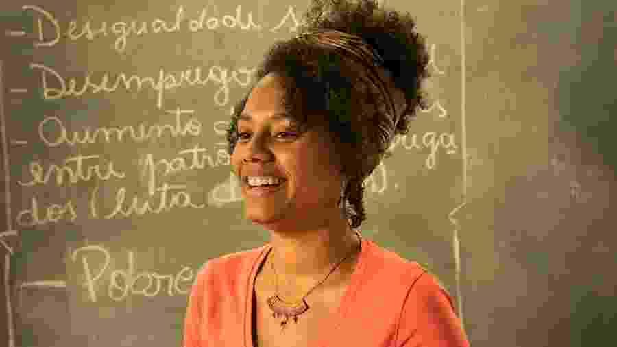 Jéssica Ellen interpreta a professora de História Camila em Amor de Mãe - João Cotta/Globo
