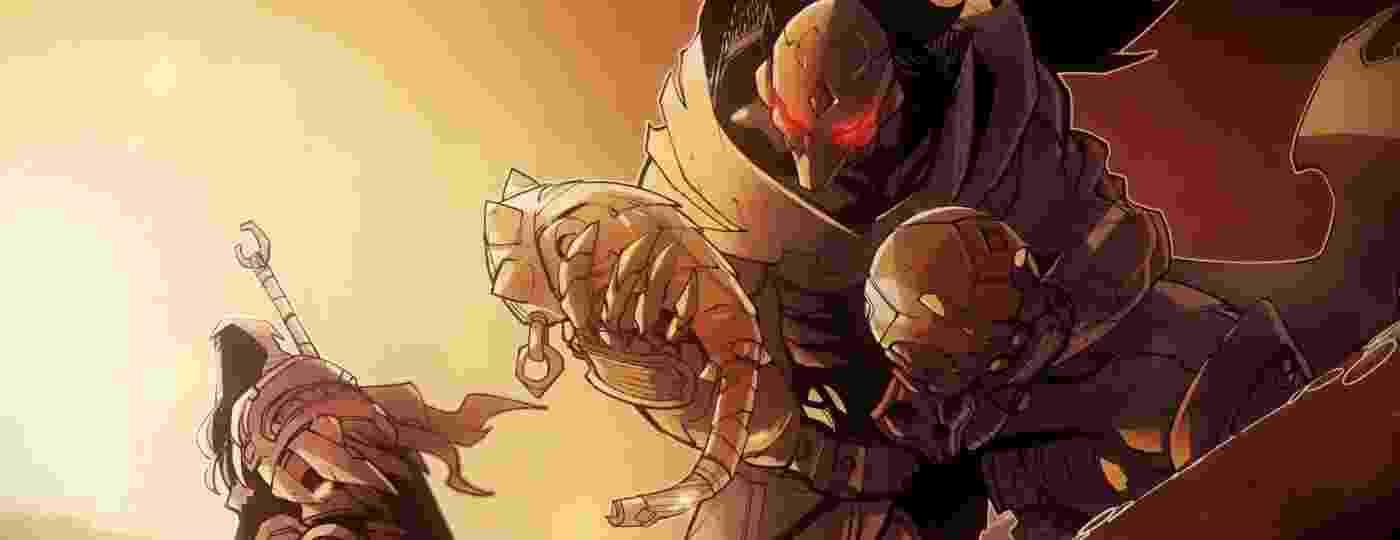 Os cavaleiros Guerra e Conflito investigam um possível desvio de Lúcifer pelas várias camadas do inferno - Divulgação