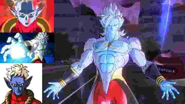O objetivo de Mira é se tornar o ser mais forte do universo, e para isso ele integra o DNA de vários mestres em si mesmo. - Reprodução