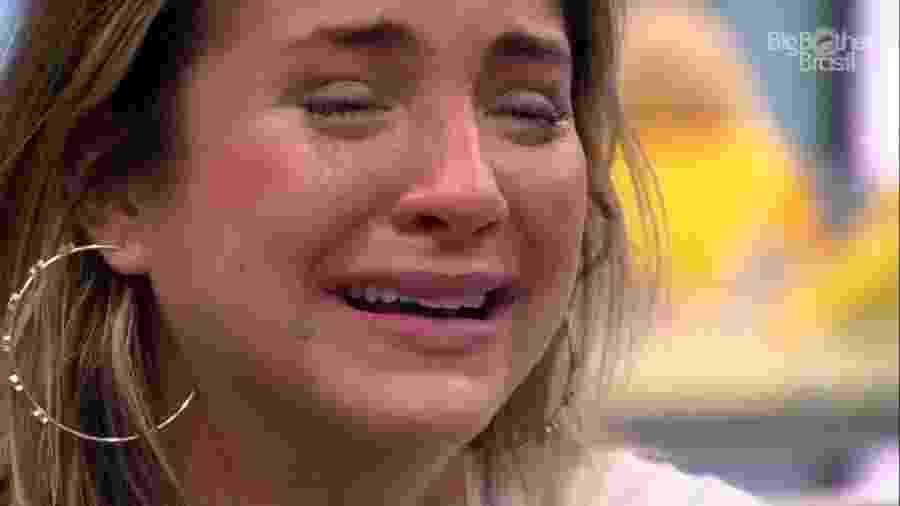 BBB 20 - Gabi chora durante almoço do anjo - Reprodução/Globoplay