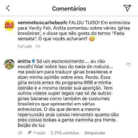 Anitta fada - Reprodução/Instagram - Reprodução/Instagram