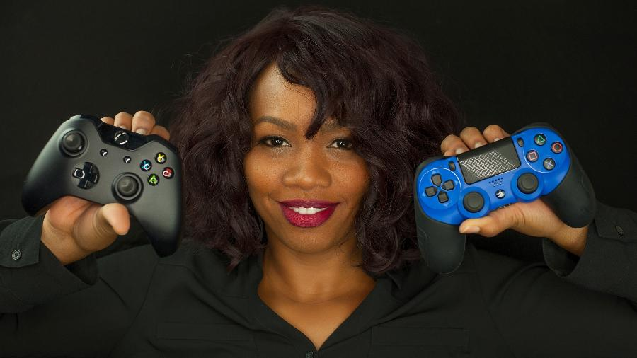 A norte-americana Keisha Howard, fundadora da Sugar Gamers, vem ao Brasil participar da Feira Preta - Philip P. Thomas/Divulgação