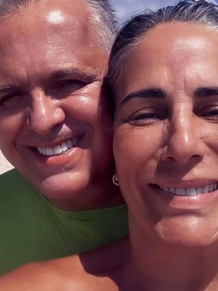 Orlando Morais com a mulher, a atriz Gloria Pires - Reprodução / Instagram