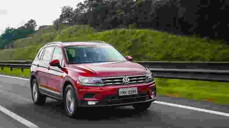 Volkswagen Tiguan 1.4 Comfortline - Divulgação - Divulgação