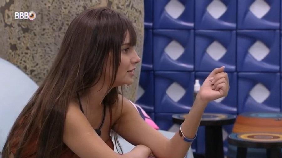 BBB 21: Thaís comenta sobre fuga do paredão de Gilberto - Reprodução/Globoplay