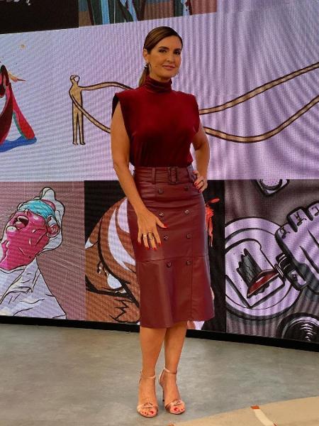 """Fátima Bernardes apresentando o """"Encontro"""" - Reprodução/Instagram @fatimabernardes"""