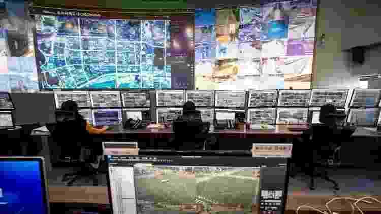 Do centro de controle você pode ver a cidade toda - Getty Images - Getty Images