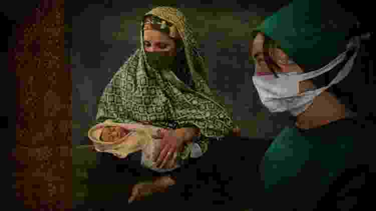 Afeganistão tem uma das piores taxas de mortalidade materna e infantil do mundo, segundo OMS - Getty Images - Getty Images