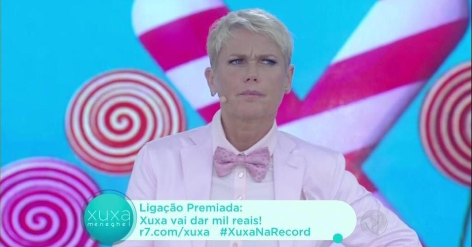 12.out.2015 - Xuxa diz que é censurada quando o assunto é política