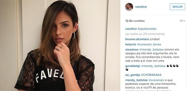 Carol Celico posta look polêmico - Reprodução/Instagram