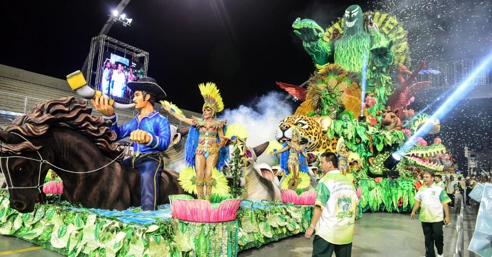 Desfile da Escola de Samba Mancha Verde