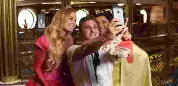 Angélica, Fabiana Karla e Luciano Huck em navio da Disney - Divulgação/Todd Anderson/Disney Cruise Line - Divulgação/Todd Anderson/Disney Cruise Line