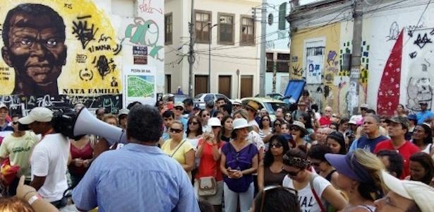 Passeio gratuito a pé pelo centro do Rio, organizado pelo projeto Roteiros Geográficos do Rio - Divulgação