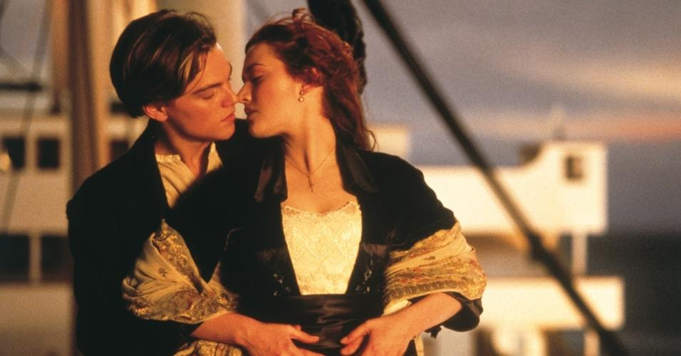 "Cena do filme ""Titanic"" (1997), de James Cameron"