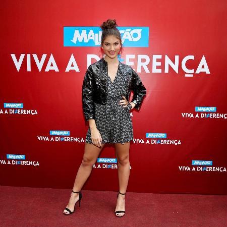 A atriz Giovanna Grigio faz o papel de Samantha na novelinha teen - Manuela Scarpa/Brazil News