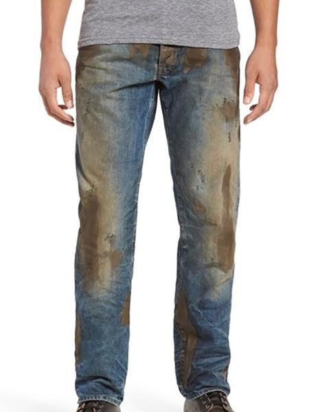3eb2d140c98ee Loja americana vende calça jeans suja com lama falsa por R  1339 ...