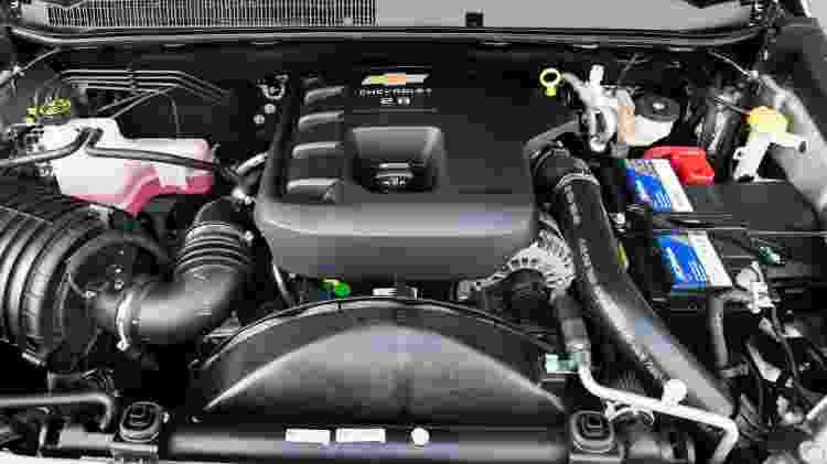 Motor a diesel da Chevrolet S10 - Divulgação - Divulgação