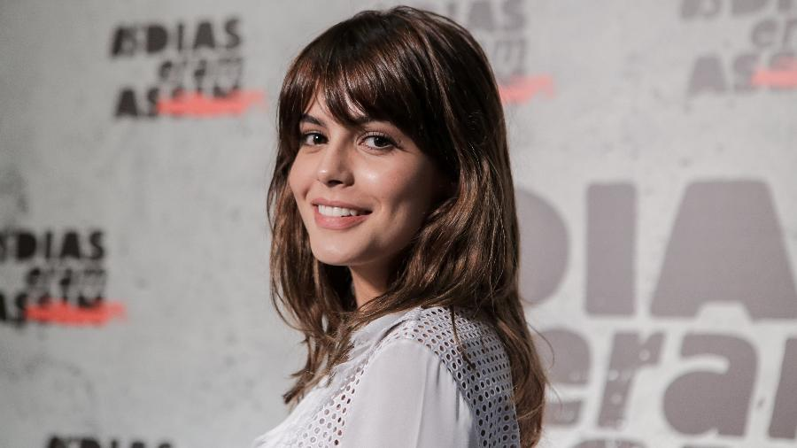 A atriz Julia Dalavia - Raquel Cunha/TV Globo