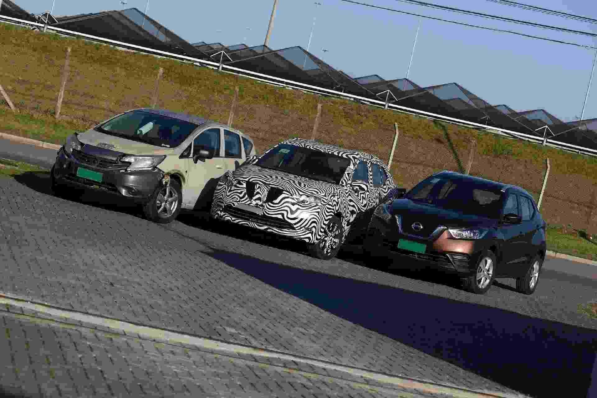 Protótipos do Nissan Kicks - Murilo Góes/UOL