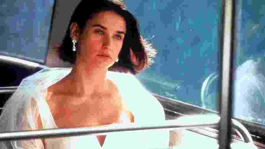 """Demi Moore em cena do filme """"Proposta Indecente"""" (1993) - Divulgação"""