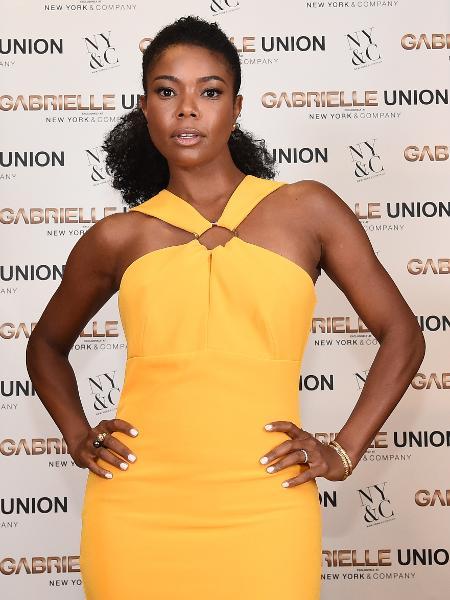 A atriz Gabrielle Union - Getty Images