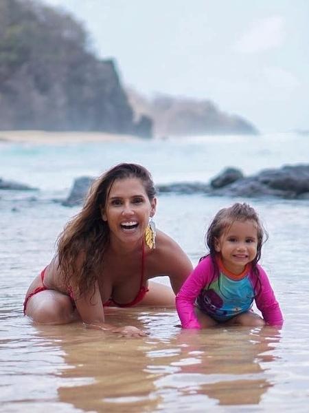 Deborah Secco com a filha Maria Flor  - Reprodução/Instagram/ Deborah Secco