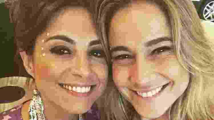 Fernanda Gentil e Priscila Montandon - Reprodução Instagram - Reprodução Instagram