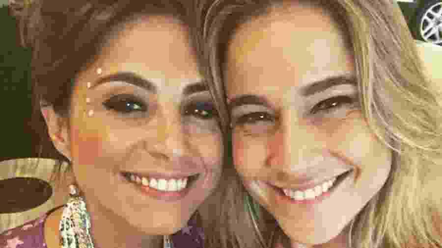Fernanda Gentil e Priscila Montandon - Reprodução Instagram