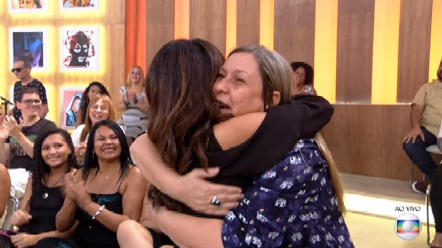 Fátima Bernardes e Daisy estudaram juntas - Reprodução/TV Globo