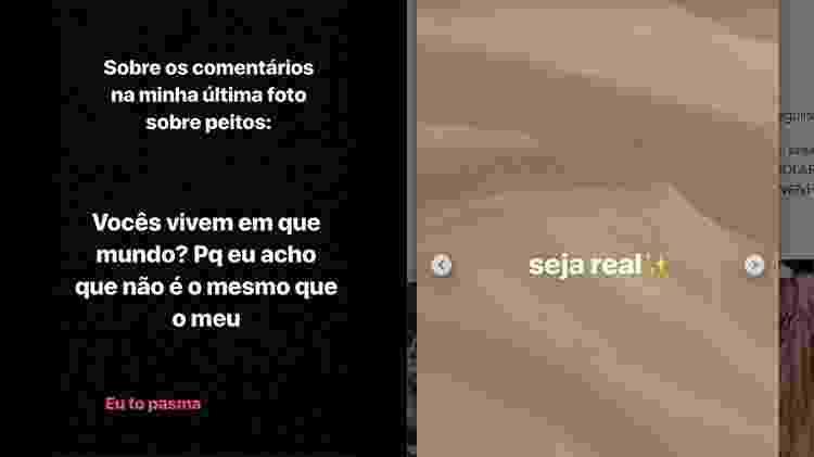 Luísa Sonza responde - Reprodução/Instagram - Reprodução/Instagram